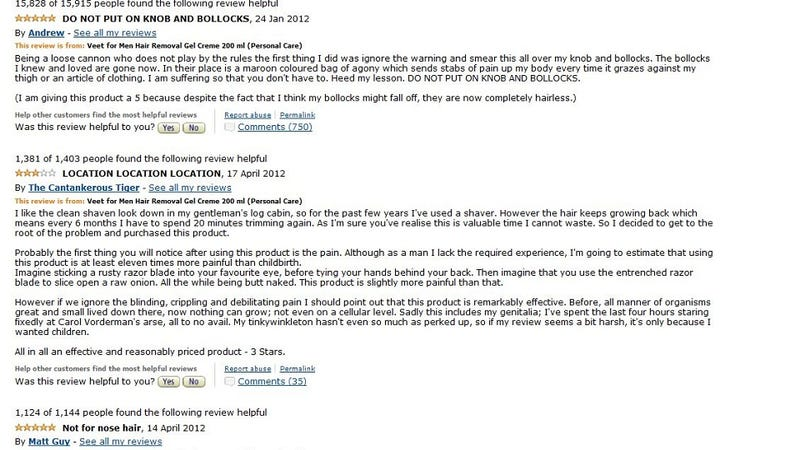 The Most Alarming Amazon Reviews Ever