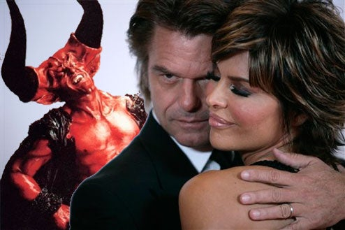 Arriving Astride Winged Serpent, Satan Himself Announces Rinna/Hamlin Reality Show