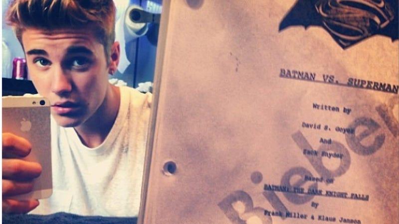 Justin Bieber: Internet's Best Troll, or Batman's New Robin?