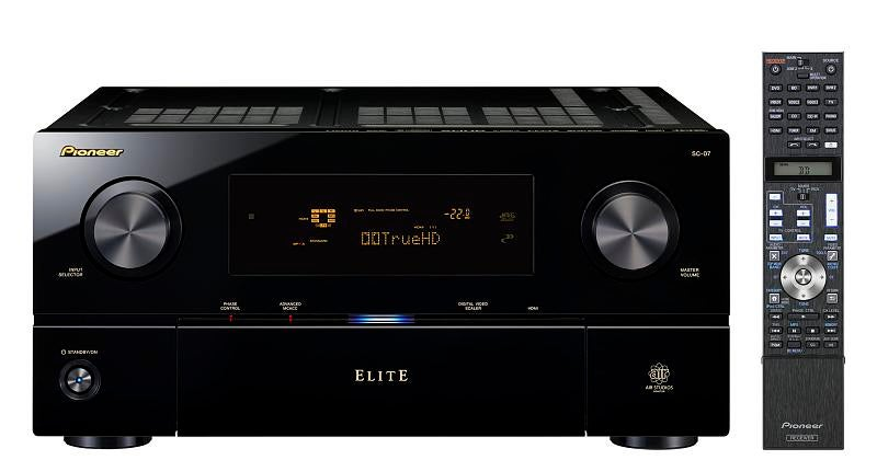 Pioneer Elite SC-07 and SC-05 Flagship Receivers (Plus the VSX-03TXH and VSX-01TXH)