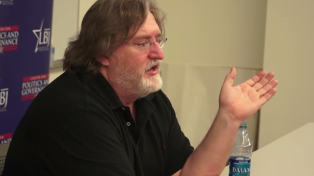 Gabe Newell Says He'll Do A Reddit AMA If Charity Reaches $500k