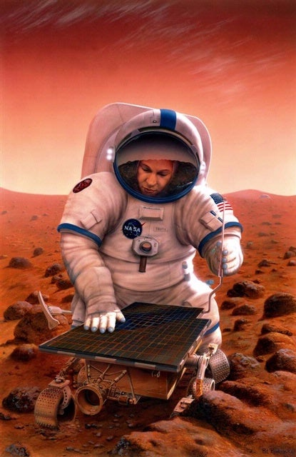 Most Americans predict humans on Mars by 2033, are utterly deluded about NASA's budget