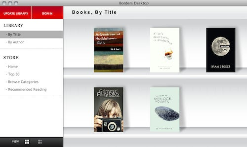 Borders Jumps on the eBook Bandwagon with eReader Apps, Online Store