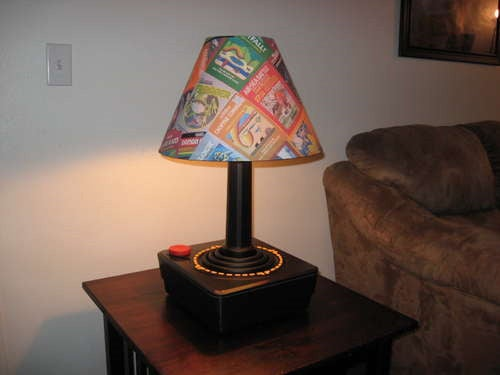 The Most Beautiful Atari 2600 Lamp Ever Created