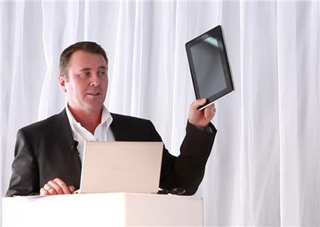 """Toshiba Readying Both Android and Windows 7 Tablets, """"SmartPad"""" Coming This October"""
