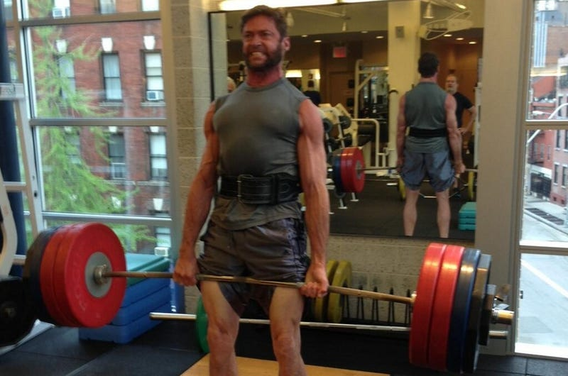 Hugh Jackman Taunts His Twitter Followers: Do You Even Lift?