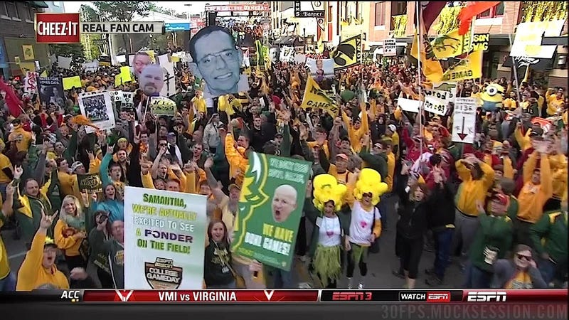 """Crap On Me Sam Ponder"": Your NDSU-Delaware State GameDay Sign Roundup"