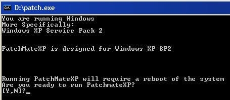 PatchMateXP Creates a Windows Update CD
