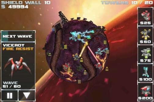 Star Defense Micro-Review: Tower Defense in Spaaaace