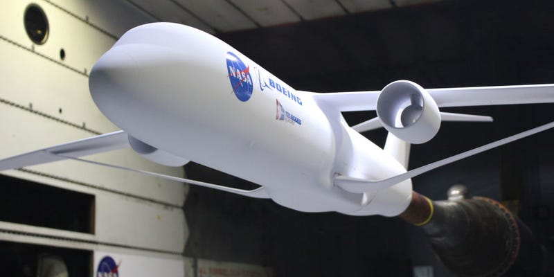 Así es el diseño del nuevo avión ecológico de la NASA, parte del mítico programa X-Plane