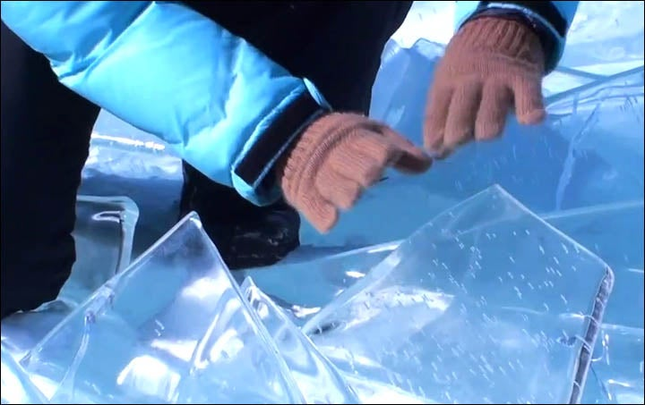 8 Otherworldly Songs Performed On Instruments Made Of Ice