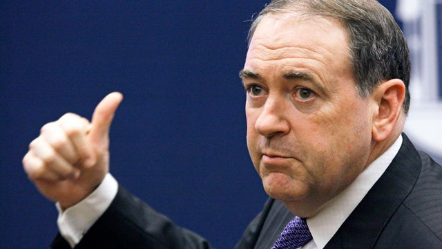 Mike Huckabee 'Physically Destroyed' All Hard Drives from Time as Governor