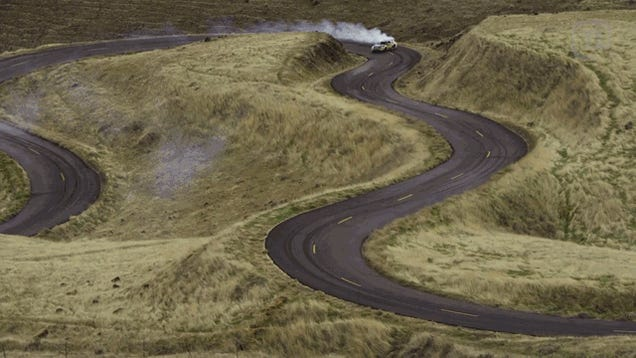 Hillclimb Drifting In An 830 Horsepower Scion FR-S