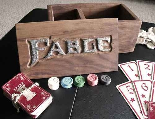 Handmade Fable Fortune's Tower Card Set: a Limited Edition of One
