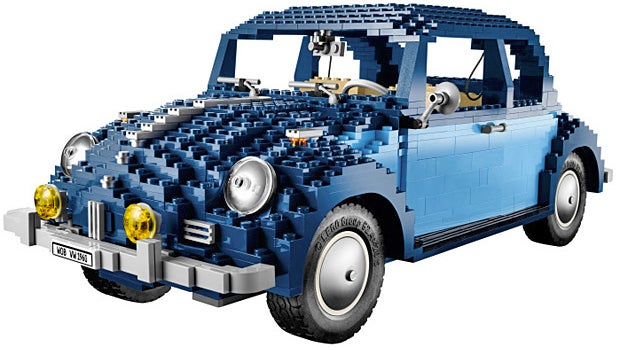 Lego's Second Attempt at a Classic '60s VW Beetle Has Finally Perfected Its Curves