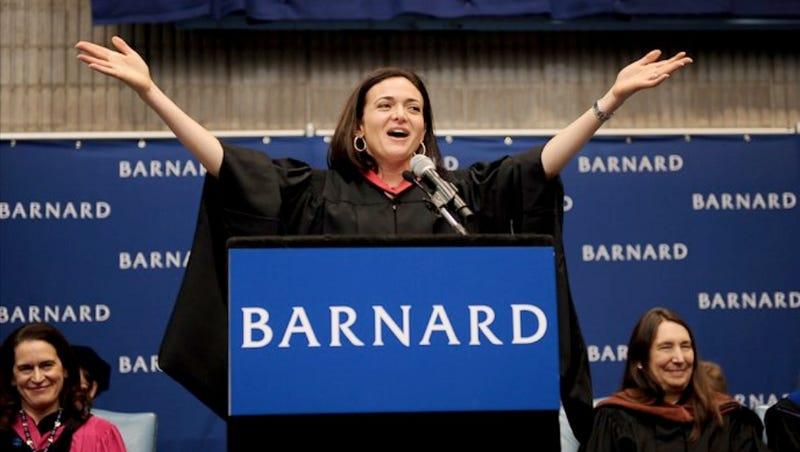 Sheryl Sandberg Revises Lean In for College Grads (Men Too)