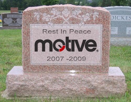 Motive Mag Closing Its Doors