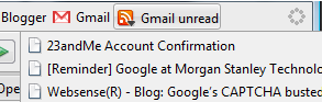 Track Your Unread Gmail Messages RSS-Style
