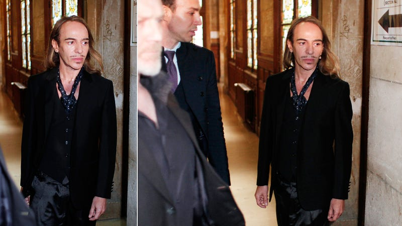 Galliano Has His Day in Court for Anti-Semitic Slurs