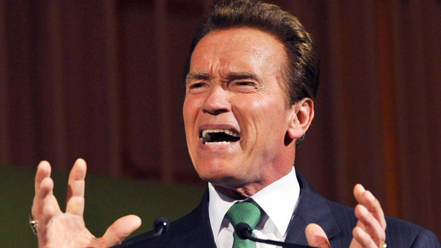 Arnold Schwarzenegger Entered Politics to 'Freak Everyone Out'
