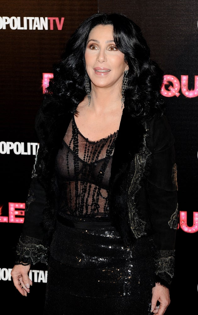 Cher Doesn't Care That You Can See Right Through Her Underwear