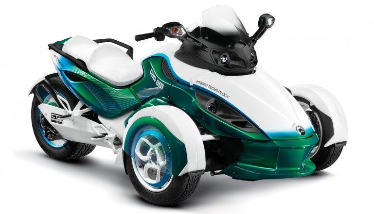 Can-Am Spyder To Get Plug-In Treatment
