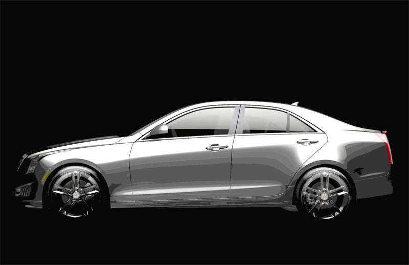 Cadillac ATS to bow its BMW-fightin' head at Detroit Auto Show