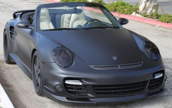 David Beckham's 2008 Porsche 911 Turbo Convertible