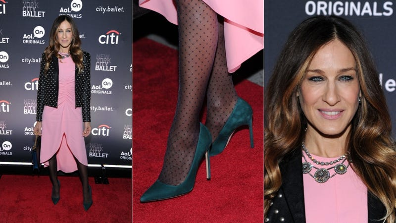 Sarah Jessica Parker Is Dot About to Not Wear Pink