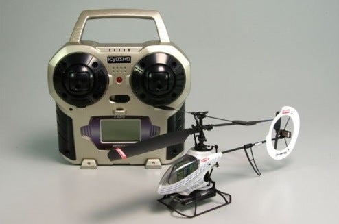 New Micro-Helicopter First With Proper Cyclic Controls, Says Japanese Maker
