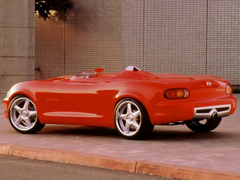 When Mazda Built a Racing Ferrari For Laughs