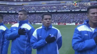 El Salvador Team, Fans Baffled By Wrong Anthem At FedEx Field