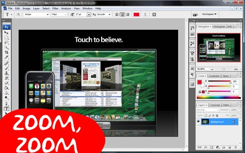 Photoshop CS 4 Will Use Your Graphics Card to Run at Light Speed, Do Fancy 3D Tricks