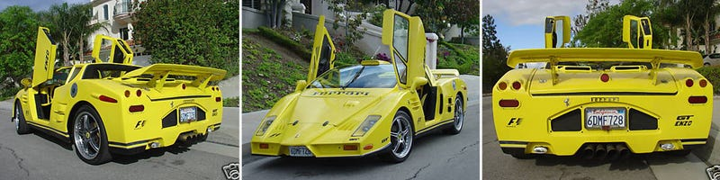 The Ten Worst Replica Cars Ever Built