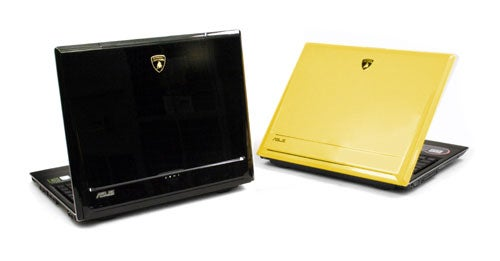 Asus VX1 Lamborghini Laptop: Hands All Over, Predictably Faster Than Hummer Laptop