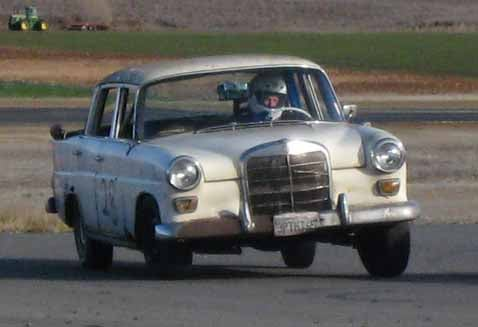 People's Choice: Team Field Find's 1965 Mercedes-Benz 190