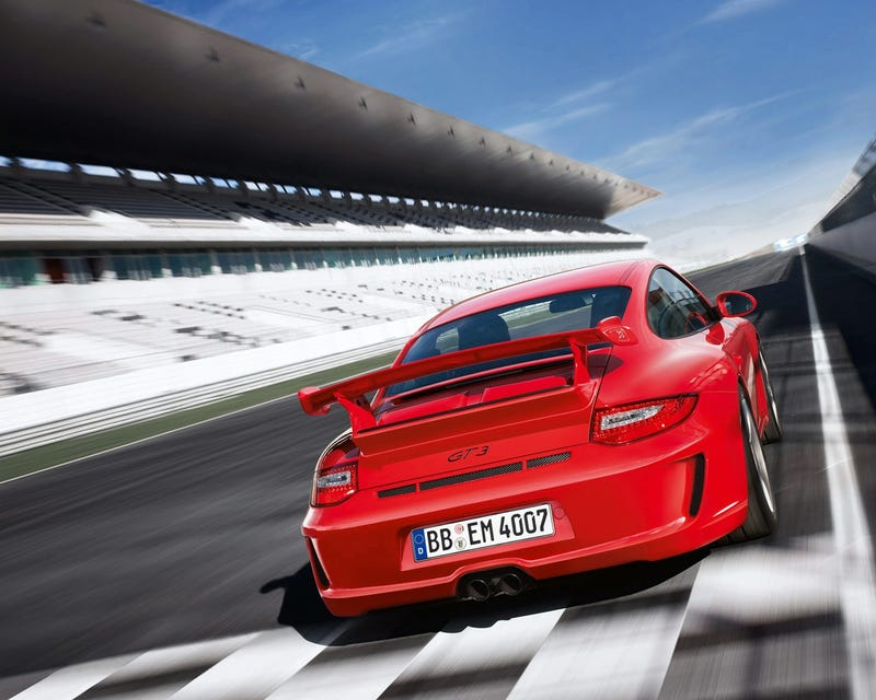 2010 Porsche 911 GT3: 435 HP, Priced From $112,200