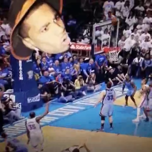 New Footage Shows The Based God's Curse On Kevin Durant Is Real