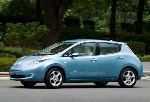 Nissan EV Claims 367 MPGe, Tells Volt To Shove it