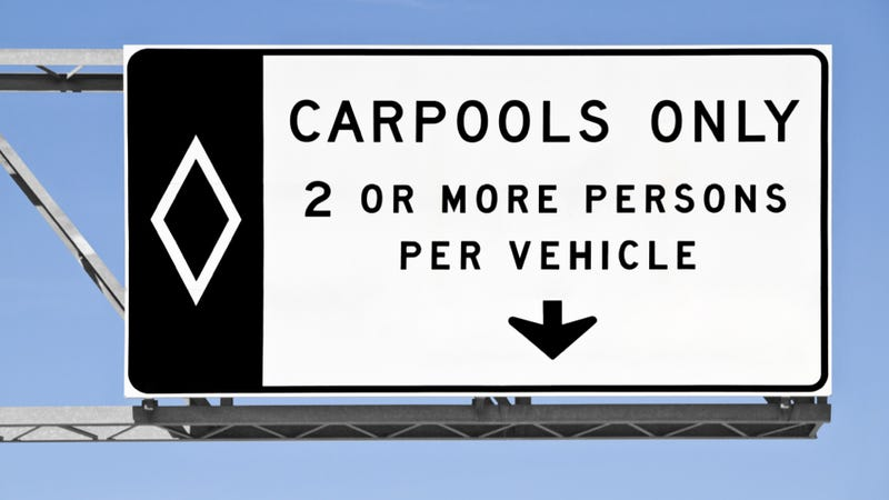 Man Nailed For Driving In The Carpool Lane Says It's OK Because 'Corporations Are People'