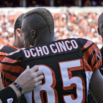 Aye Carumba! Chad Johnson Changes Last Name To Ocho Cinco