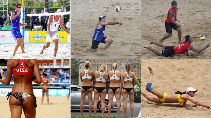 The Men's Beach Volleyball Uniforms Need an Overhaul