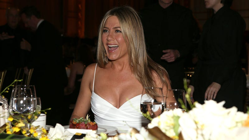 Jennifer Aniston Laugh-Cries About Not Having a Baby Using a Smartwater Commercial