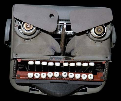 Typewriter Monster Mask, Grrrr! (Arg)