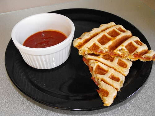 Use a Waffle Maker to Roll Your Own Pizza Pockets