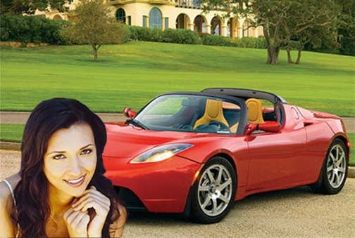 Millionaire Matchmaking Service Offers Tesla Roadster With Purchase Of Date