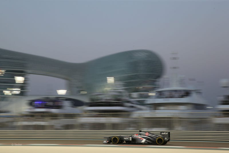 Abu Dhabi Grand Prix Qualifying in Pictures