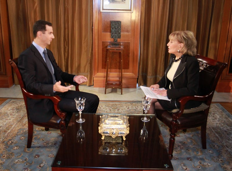 Barbara Walters Sorry for Trying to Get Assad Aide into Columbia (UPDATE)