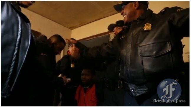 Watch Detroit's Badass Top Cops Pretend To Be A Drug Dealer In Raid