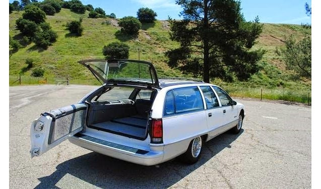 You Can Be Capricious In This Long Roof Chevy